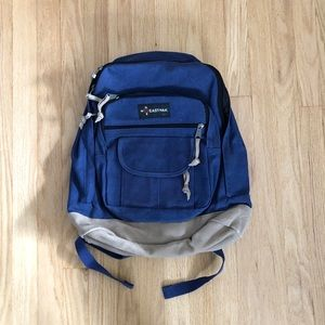 Eastpak Canvas Suede Bottom Backpack